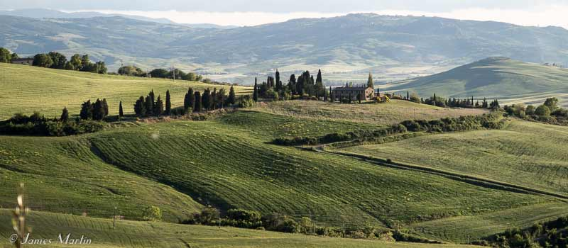 val d'orcia map and travel guide | wandering italy - Bagno Vignoni Map