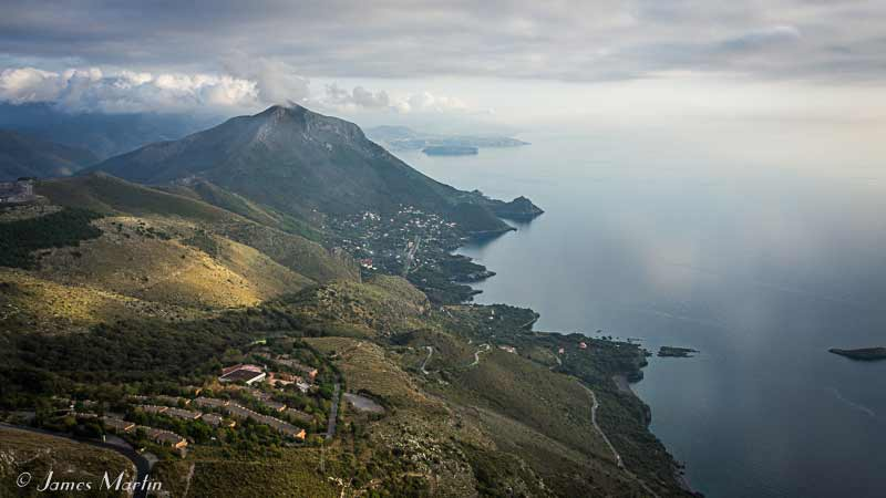 Basilicata coastal view