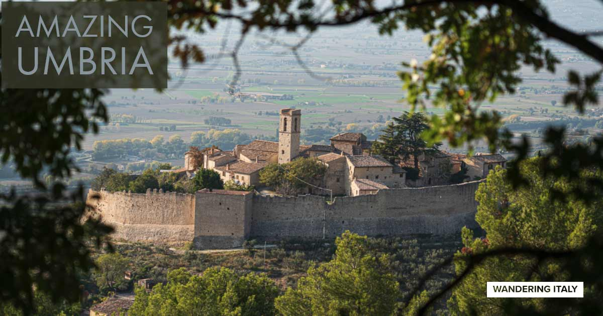 Umbria Maps and Travel Guide   Wandering Italy