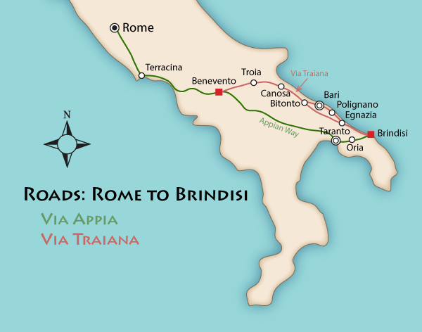 via traiana map