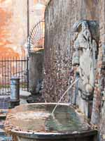 aventine hill santa savina fountain picture