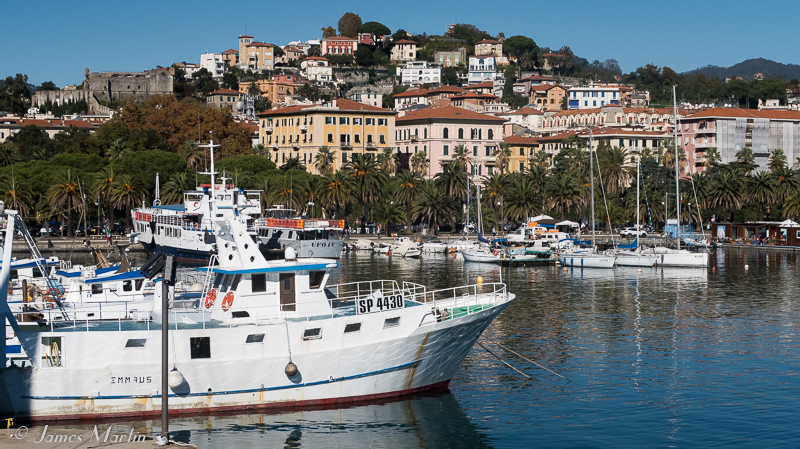 La Spezia Map and Travel Guide Wandering Italy