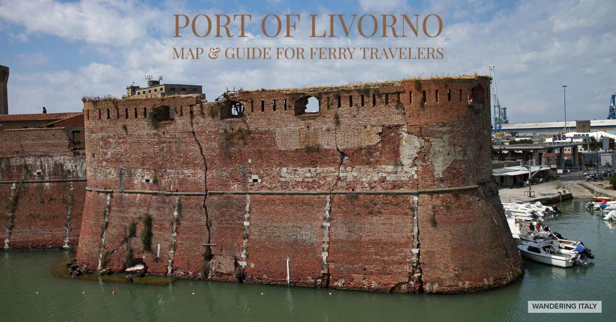 Livorno - Port Area Map and Guide | Wandering Italy